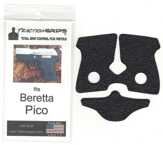 Tractiongrips Rubber Grip Tape Overlay For Beretta Pico Pistols