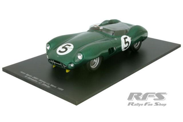 Aston Martin DBR1 - 24h Le Mans 1959 - Shelby / Salvadori - 1:18 Spark 18LM59