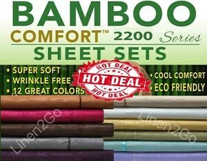 2200-COUNT-BAMBOO-ULTRA-COMFORT-BED-SHEET-SET-EMBOSSED-4-PIECE-ALL-COLORS