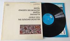 "LP 12"" STEREO BARTOK CONCERTO ORCHESTRA JANACEK SINFONIETTA SZELL CLEVELAND ITAL"