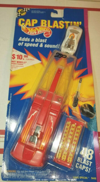 1991 Hot Wheels Cap Blastin/' Sonic Special