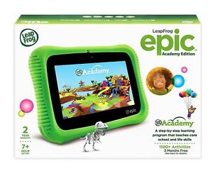 Details about Leapfrog Epic Android 16GB Tablets - Kids Learning w/ 20+ Apps