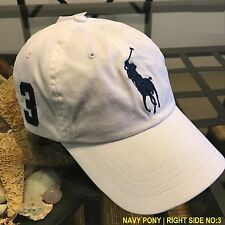 58fa51eb4d1 item 2 POLO RALPH LAUREN MEN S WHITE BIG PONY 1 SIZE ADJUSTABLE BASEBALL  CAP HAT NWT -POLO RALPH LAUREN MEN S WHITE BIG PONY 1 SIZE ADJUSTABLE BASEBALL  CAP ...