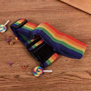Reisegepaeck-Koffer-Gurt-Gepaeck-Rucksack-Tasche-Regenbogen-oben-Farbe-U6A8-G-J9V7