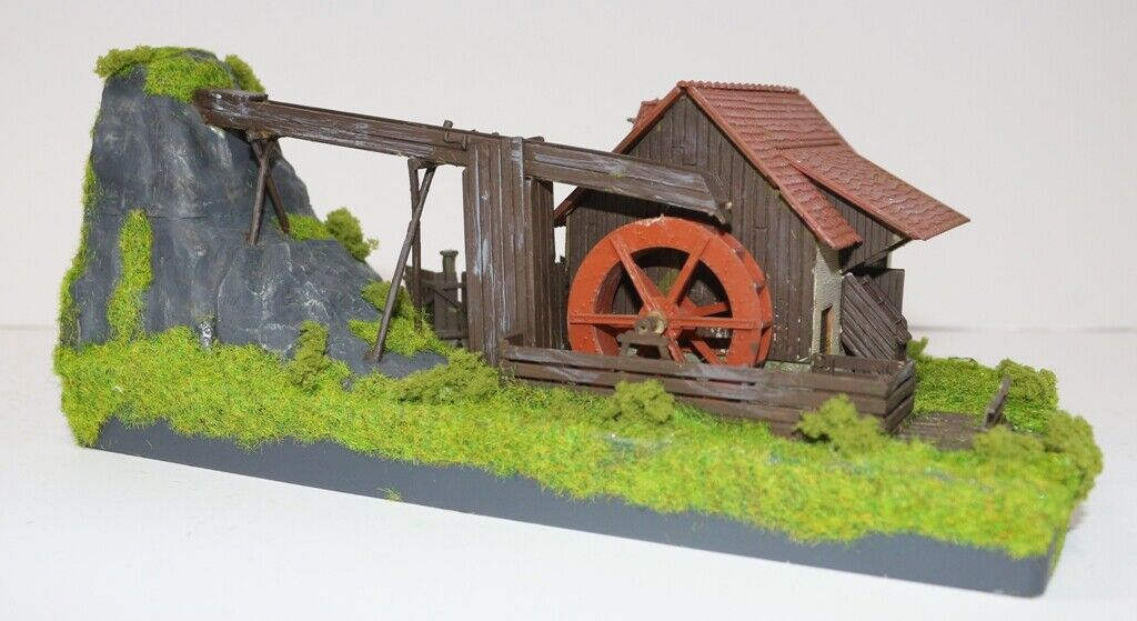 685dm HO Mill with Electric Motor Circle Water Running as from photos
