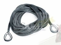 Warn Winch Atv Synthetic Rope Extension 4000lbs 50' X 1/4