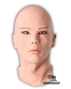 Brillant Realistische Frauen Maske Diva Latexmaske Frauengesicht Fasching Karneval