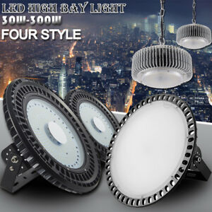 Led High Bay Light 250W 200W 150W 100W Warehouse Construction Lights Fixture UFO