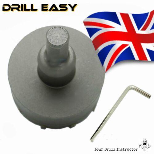 45 mm HSS Metal Wood Alloy Hole Saw Cutter Drill Bit CARBIDE TIP TCT Drill