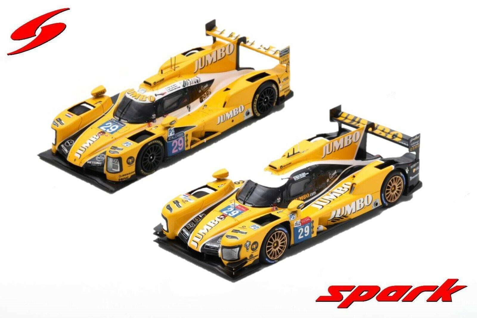 Spark 1 43 Dallara P217 Gibson   29 Racing Team Nederland 24H Le Mans 2017 & 2018  le réseau le plus bas