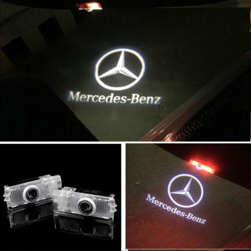 LED Logo Door Courtesy Laser Shadow Light For Mercedes-Benz C218 A207 C207 C117