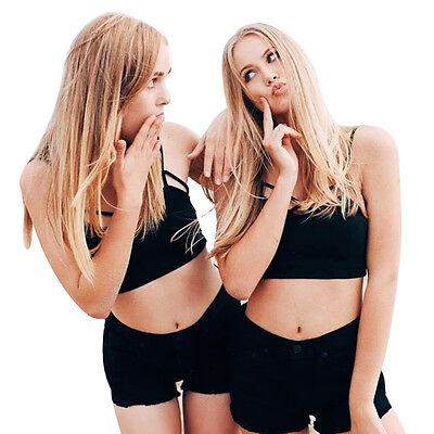 NEW Sexy Women's Cut-Out Bra Crop Bustier Bralette Corset Tops Tank Tops Blouse