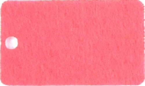 Campana De Fieltro 10x 3 mm con un moño artesanías Formas Tamaños 6-15 cm 11 Colores