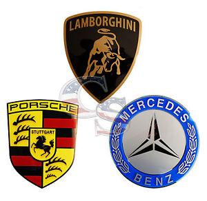 Mercedes Ferrari Agip Lamborghini 3d Sign Sport Car Garage Racing