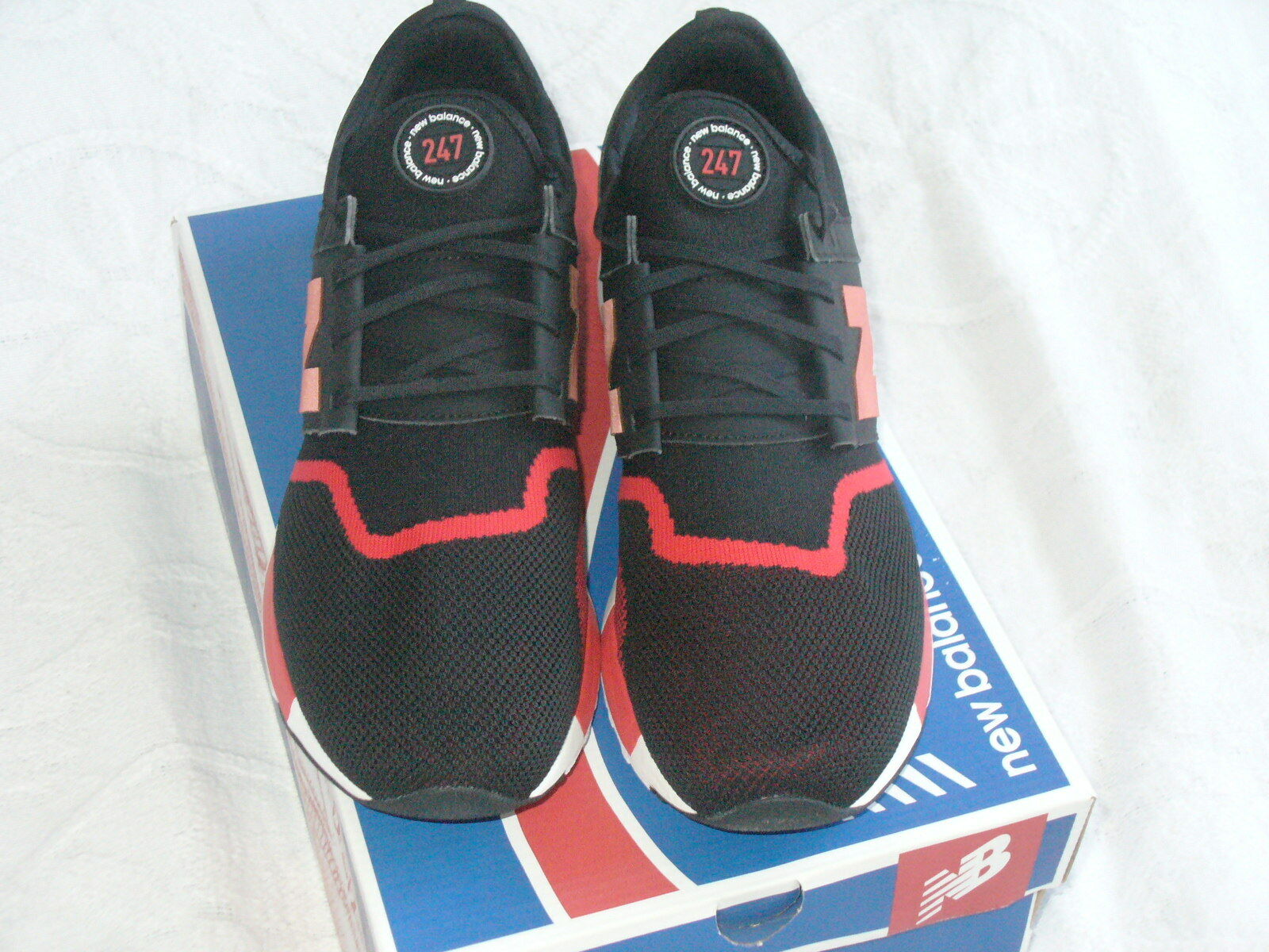 New Balance MRL247GR - Men's 247 Luxe Lifestyle shoes shoes shoes Sz 13 Blk Red NWB.  LOOK  77ec97