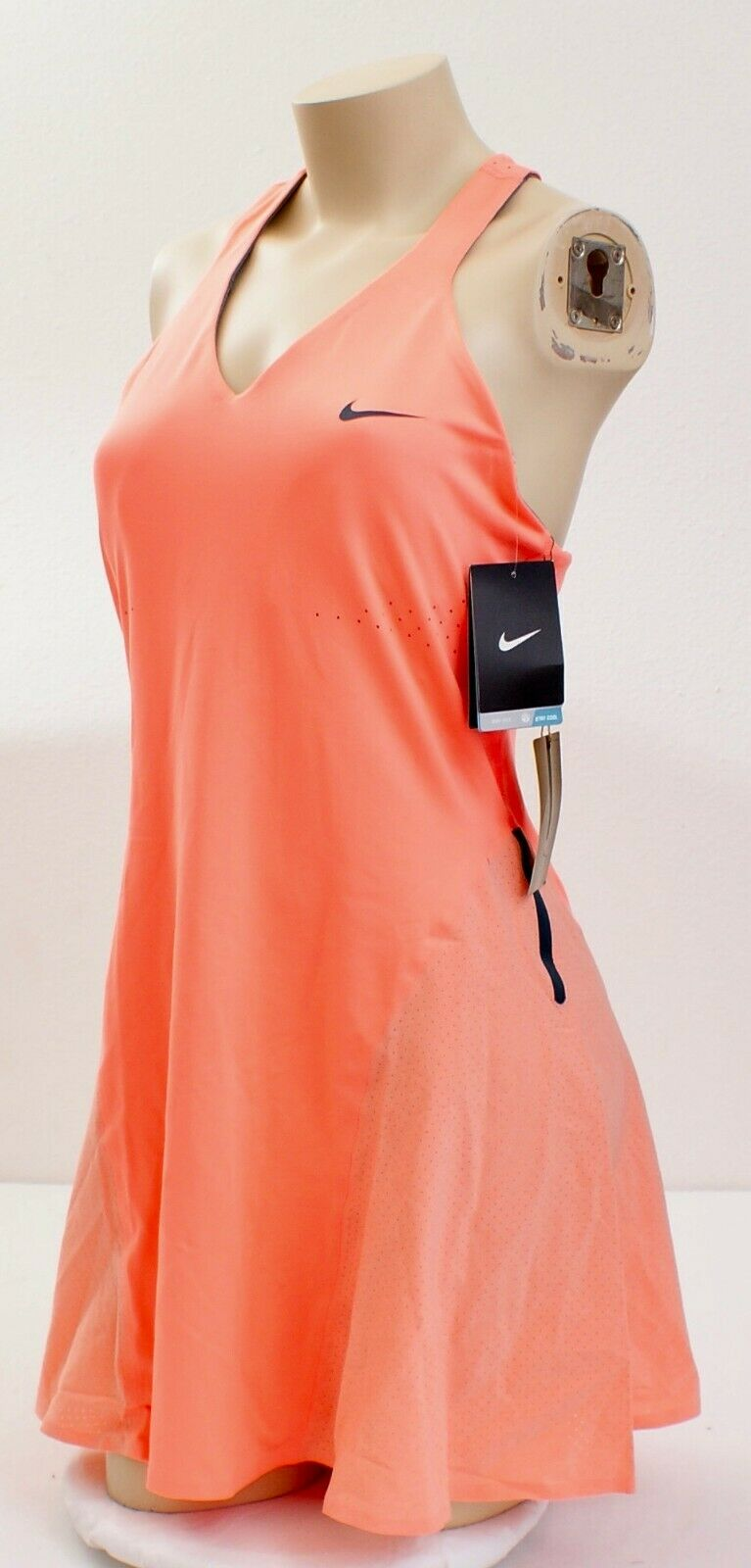 Atomic Pink Premier Maria Tennis Dress Nike Dri Fit Premier Atomic Pink Maria Sharapova Tennis Dress ...