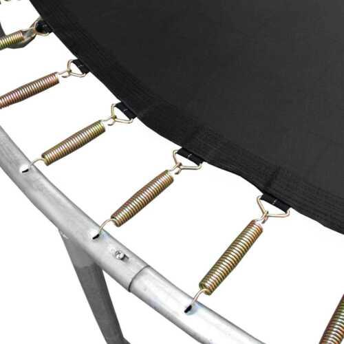 Sprungtuch mit 48 Federlaschen für Trampolin und Gartentrampolin 244 bis 250 cm