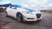 Honda CR-Z Front Bumper FRP Canards 4pcs fits most Bumpers Performance aero V6