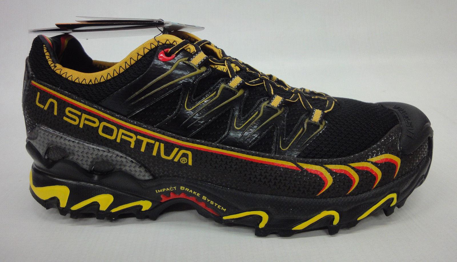 La Sportiva para Hombre Ultra Raptor Mountain Zapatillas 16U Negro amarillo Tamaño 43.5