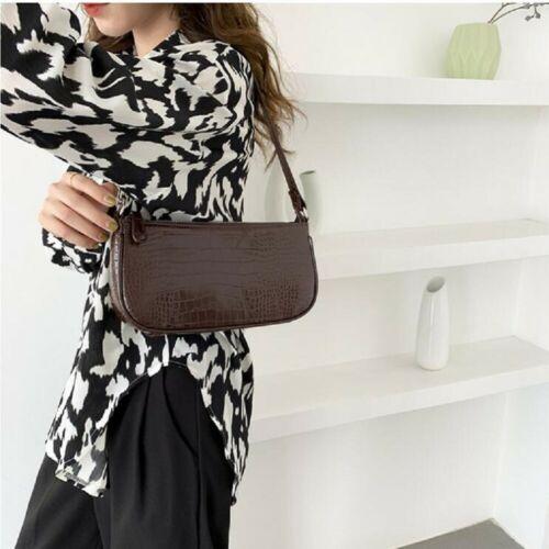 Women Retro 90s Vintage Small Shoulder Bag Purse Mini Bag Ladies Casual Handbag