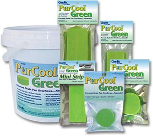 Nu-Calgon 61051 PurCool PCG5T Green Pan Tab PACK 6 Tablet up to 5 Ton