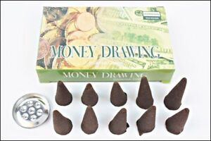 Darshan-Money-Drawing-Incense-Cone-12-pack-X-10-cones-120-cones