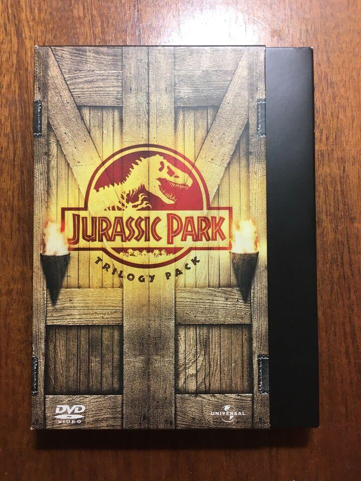 Jurassic Park Trilogy Pack, instruktør Steven Spielberg,