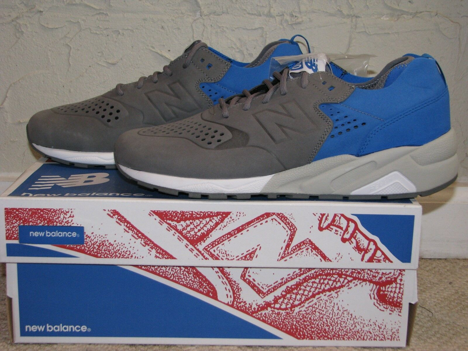6b836a044637 Colette x New Balance Balance Balance MRT580D5 Grey   Blue Mens Size 10 DS  NEW!