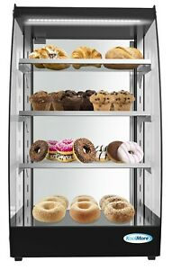Commercial-Glass-Bakery-Display-case-4-Tier-Self-Service-Pastry-Case-with-LED