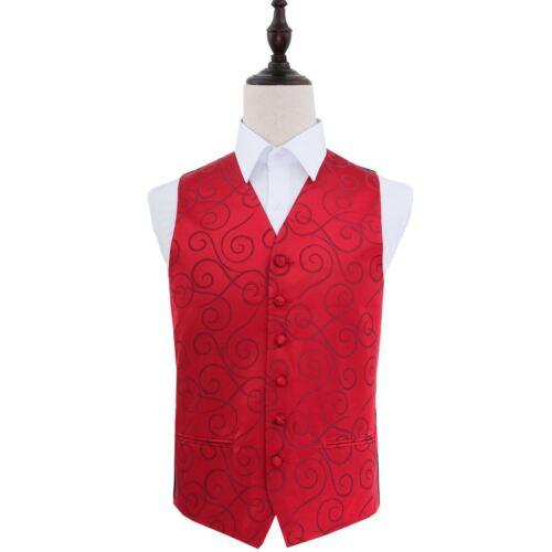 Scroll Waistcoat-burgundy-46