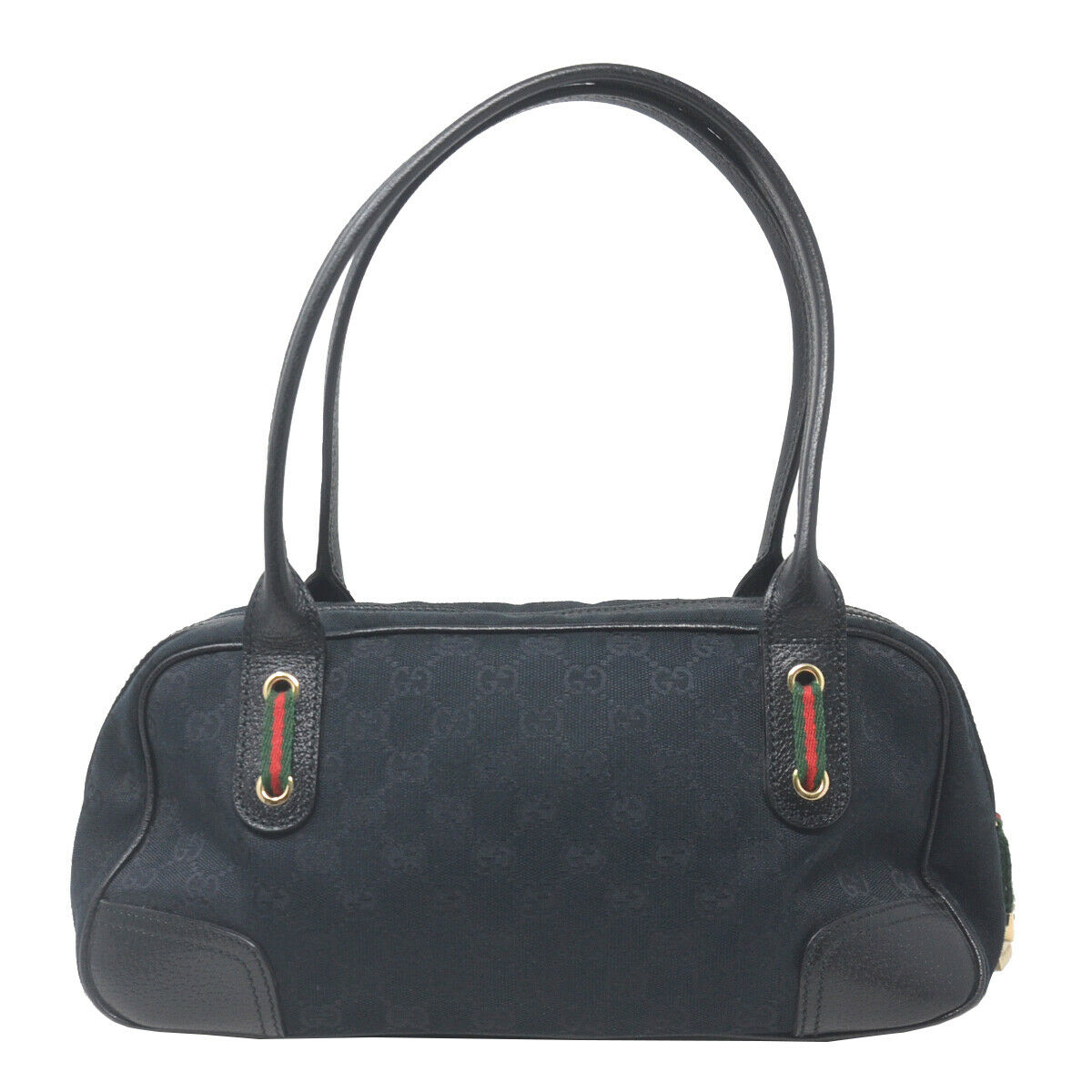 Gucci Boston Princy Black Guccissima Monogram Sm… - image 3