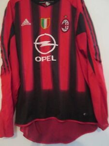 2004-2005-AC-Milan-Home-no-7-Football-Shirt-XL-Adult-41796