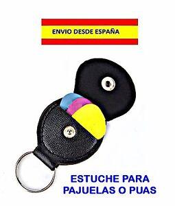 ESTUCHE-PARA-PUAS-Y-3-PUAS-GUITAR-PICK-GUITARRAS-MANDOLINAS-BAJOS-UKELELE