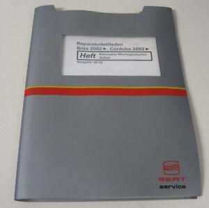 Werkstatthandbuch-Seat-Ibiza-Cordoba-Karosserie-Montagearbeiten-Aussen-ab-2002