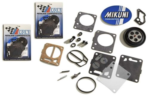 Genuine Mikuni Dual Carb Carburetor Rebuild Kit Sea Doo 951 XP GSX GTX RX Lrv
