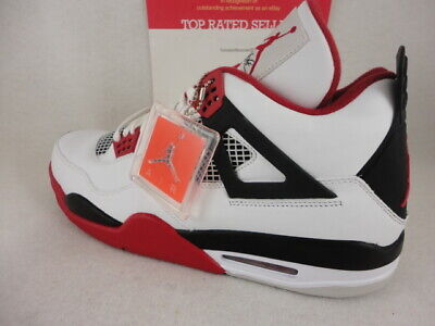 4e21609c27cde Nike Air Jordan 4 Retro , Fire Red, White / Varsity Red / Black, 308497  110, S15 886551115093 | eBay