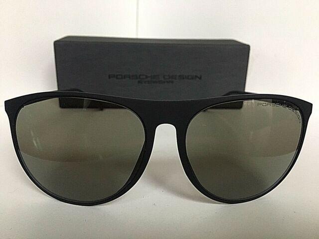 1f54b7b249b2 New PORSCHE DESIGN P 8596 P8596 B Cat.2 58mm Black Women s Sunglasses