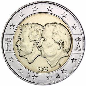 Belgien 2 Euro Münze Wirtschaftsunion Mit Luxemburg Henri Albert