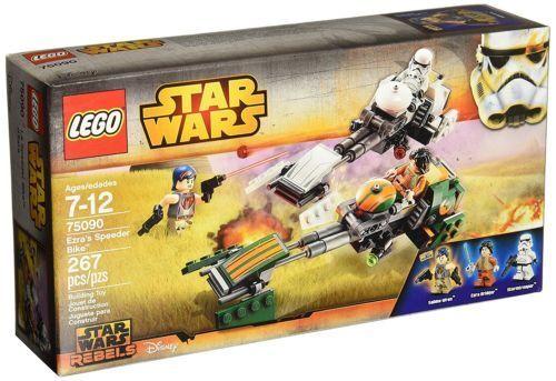 LEGO Star Wars 75090 Ezra's Speeder Bike Brand New Factory Sealed 3 minifigures
