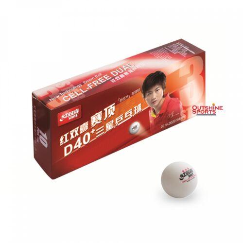3 Star Table Tennis Ball DHS D40