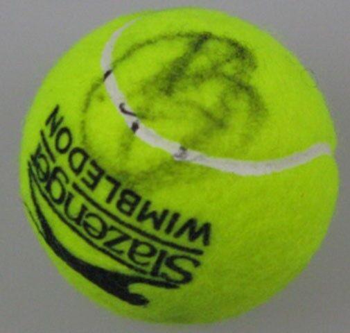 NOVAK DJOKOVIC  Hand Signed Tennis Ball 2 + Photo Proof 'Buy Genuine'