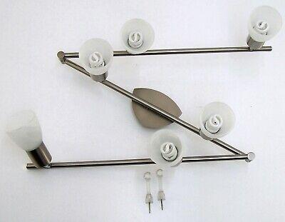 Deckenlampe Trio 6 Flammig Chrom Matt Mit 6 Gläsern Typ 876110607