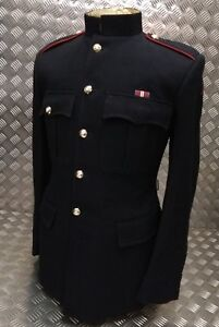 Genuine British Army Gibraltar Regiment Issued No1 Dress OR Jacket Red Pipe