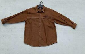 Pelle-Pelle-By-Marc-Buchanan-Denim-Jacket-XL-Brown