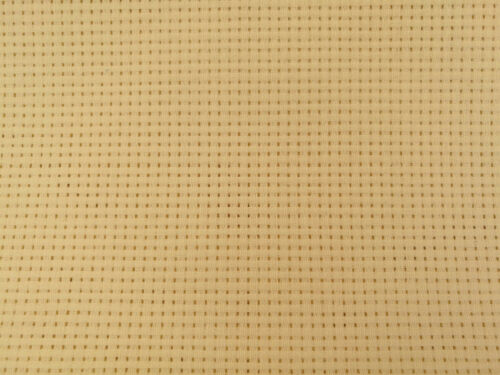 BINCA AIDA 6 COUNT CROSS STITCH WHITE CREAM VARIOUS SIZES COTTON *10/% OFF 2+*
