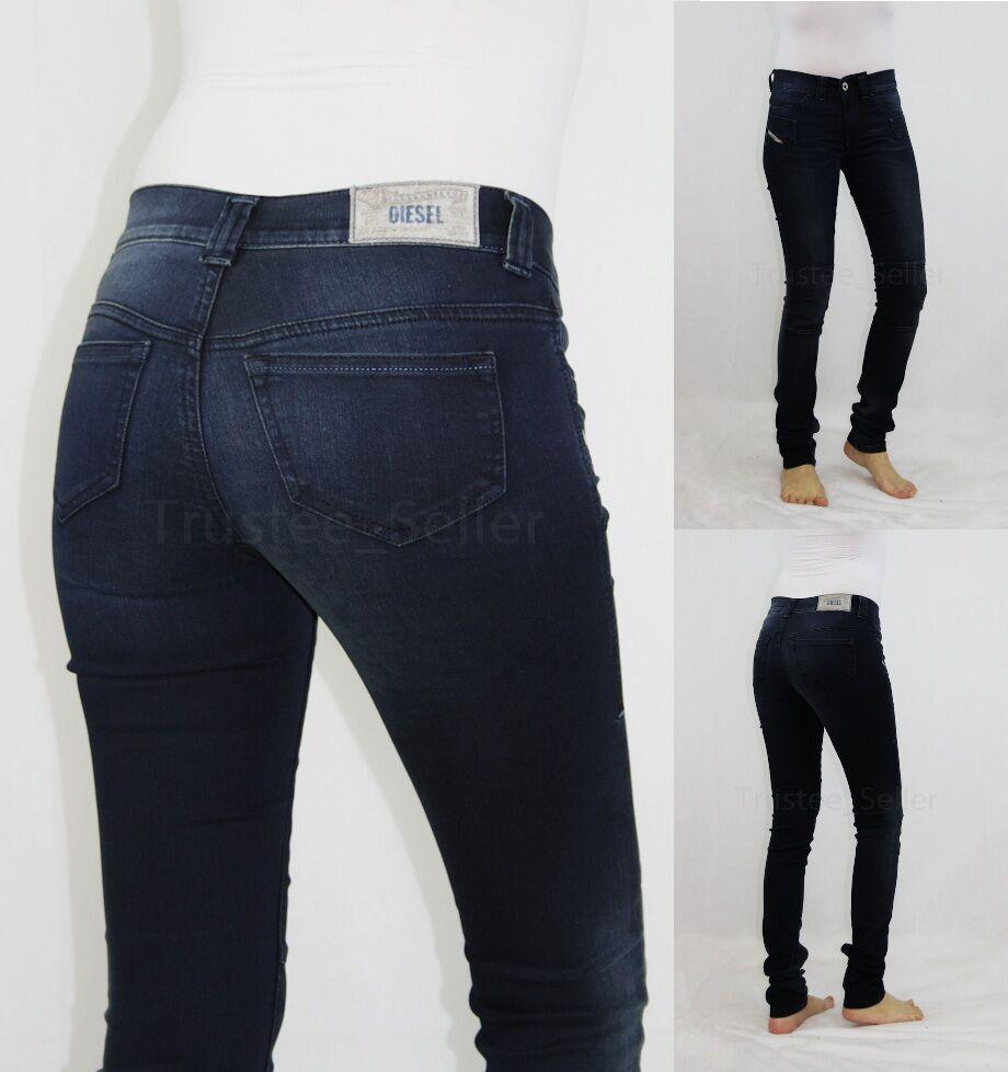 DIESEL Fashion Jegonfire SP 600Y Super Skinny Motorcycle Legging Pants Jeans