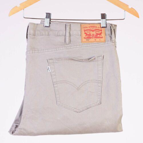 Levi/'s 541 Athletic Fit Big /& Tall Beige Men/'s Trousers W46 L34