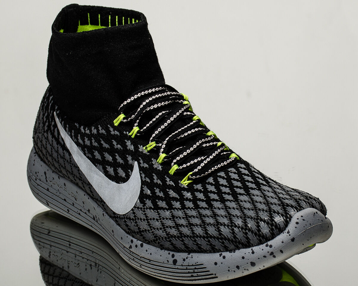 Nike Lunarepic Flyknit Shield men running run sneakers shoes NEW grey 849664-001