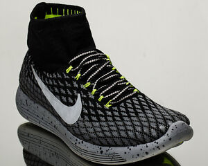 c1142ce1bf1 Nike Lunarepic Flyknit Shield men running shoes grey Last size 8 US ...