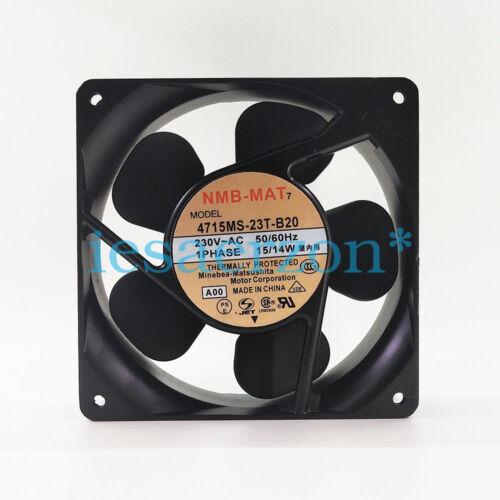 230VAC 119MM 70.6CFM 32DB NMB TECHNOLOGIES 4715MS-23T-B20 FAN